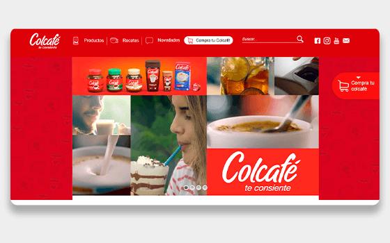 Colcafe Website